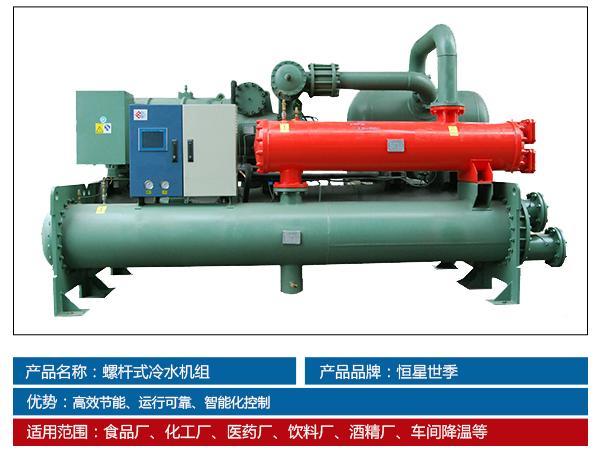 济南创客药谷生物医药产业发展有限公司螺杆式冷水机组系统实景