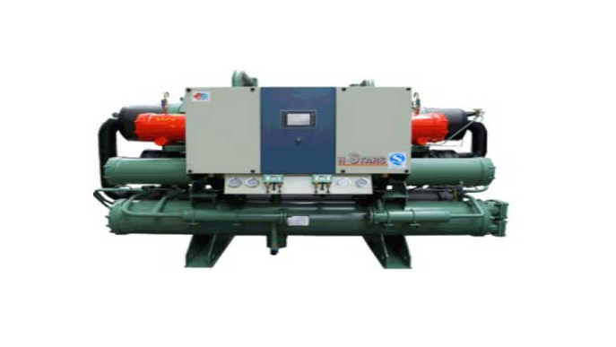 恒星世纪客户安徽金禾实业股份定制满液式水冷螺杆式冷水机组案例