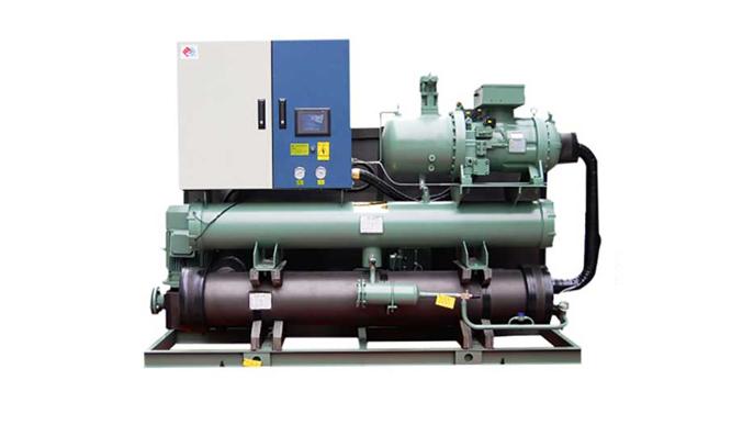 恒星世纪客户兰州科天水性高分子材料定制水冷螺杆工业冷水机组案例