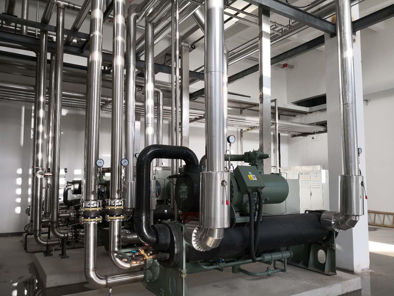 全柴动力冷水机组系统实景展示