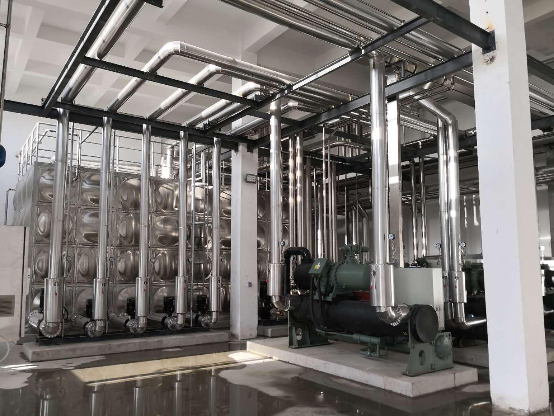 安徽旭日光盘有限公司冷水机组系统实景展示