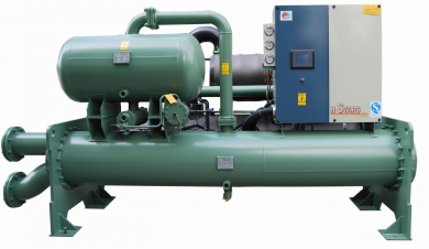 饮料厂用水冷低温机组