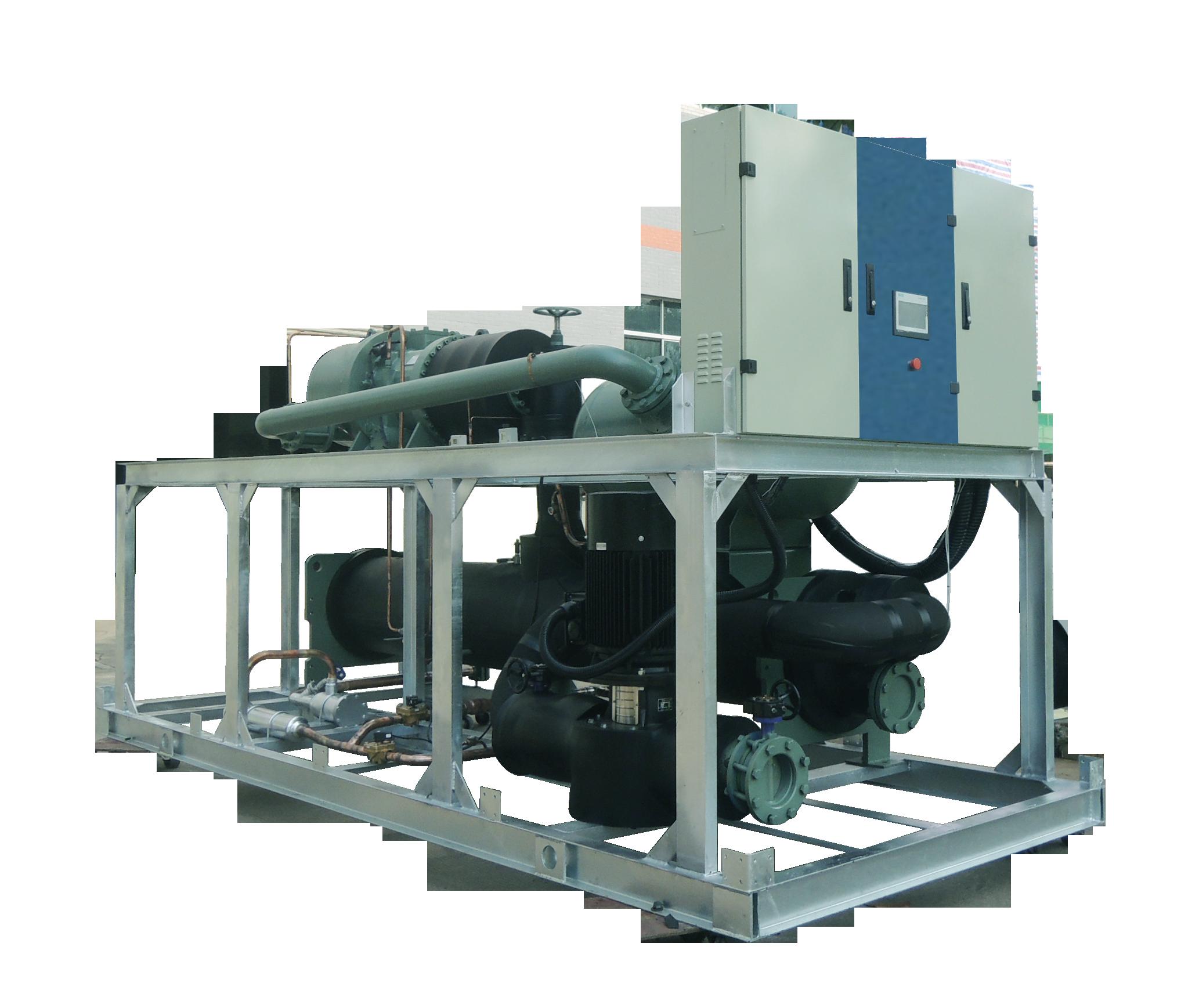 蒸发式低温制冷机组